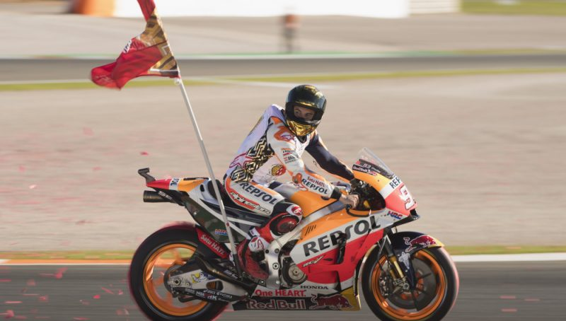 ¡Grande Marc! campeón del mundo por sexta vez
