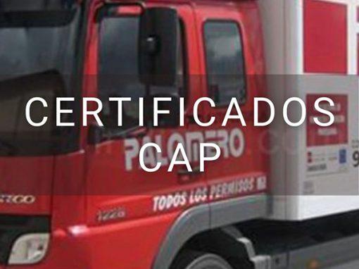 Certificado CAP