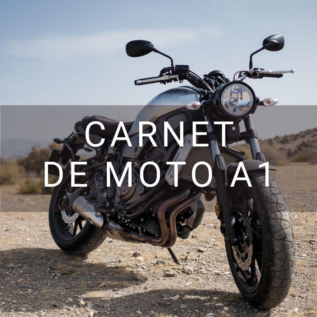 Carnet de moto A1