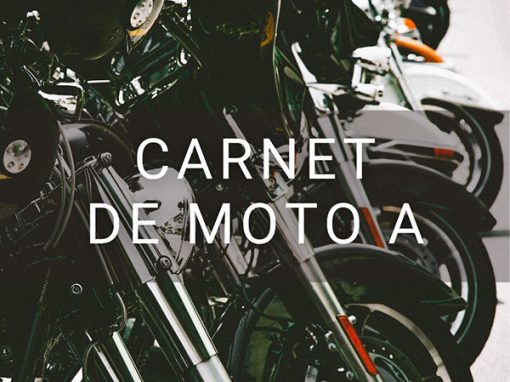 Carnet de moto A