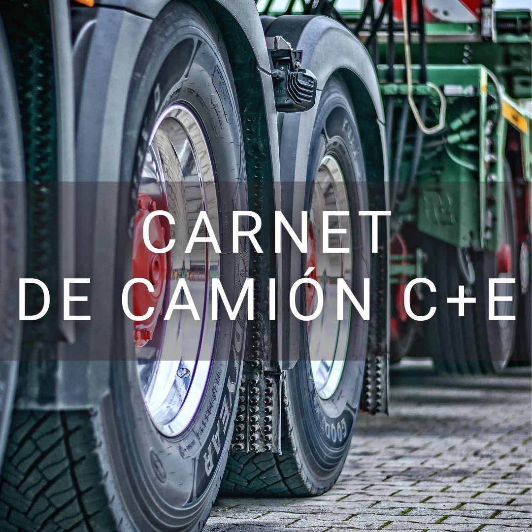 Carnet de Camión C + E